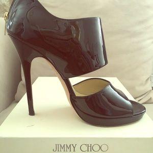 $$ DROP Jimmy Choo Private Patent, sz 40